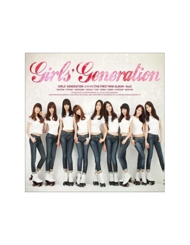 Girls Generation SNSD 1st Mini Album Gee