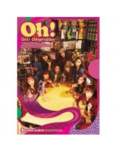 Girls Generation SNSD 2nd Album vol 2 Oh