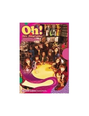 Girls Generation SNSD 2nd Album vol 2 Oh