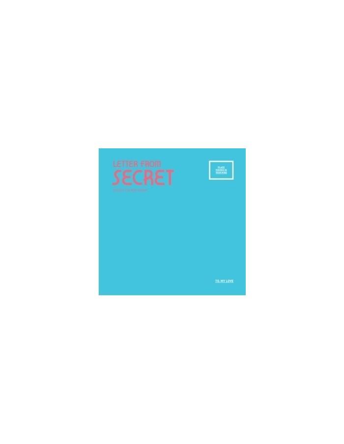 Secret 4th Mini Album - Letter from Secret CD + Poster