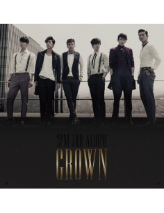 2PM 3rd Album Vol 3 - Grown A version CD + Photobook + Poster