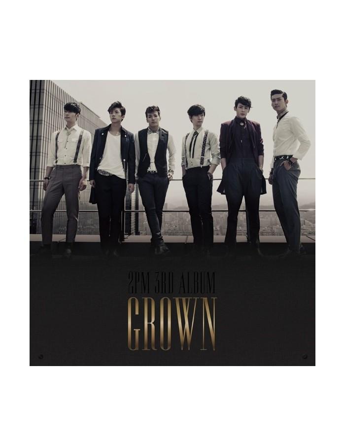 2PM 3rd Album Vol 3 - Grown A version CD + Photobook + Poster