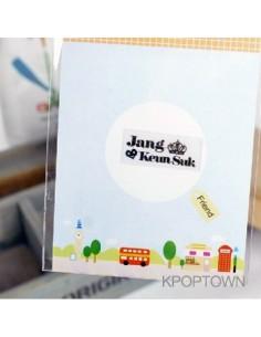 Cell Phone Anti-Radiation Shield Sticker -  Jang Keun Suk