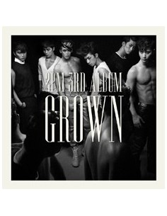 2PM 3rd Album Vol 3 - Grown B version CD + Photobook + Poster