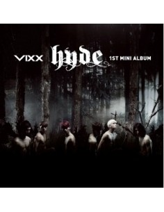 VIXX 1st Mini Album - hyde CD + POster