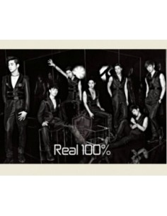 100% 1st Mini Album - Real 100% CD + Poster
