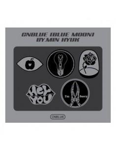 [CNBLUE Official Goods] CNBLUE BLUE MOON Metal Badge Set
