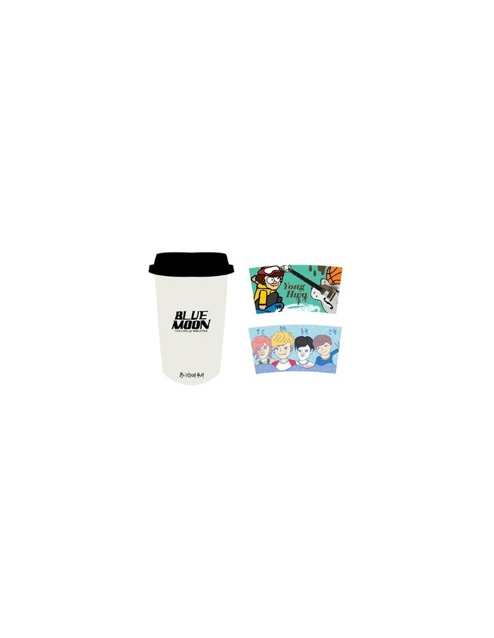[CNBLUE Official Goods] CNBLUE BLUE MOON Eco Cup & Holder