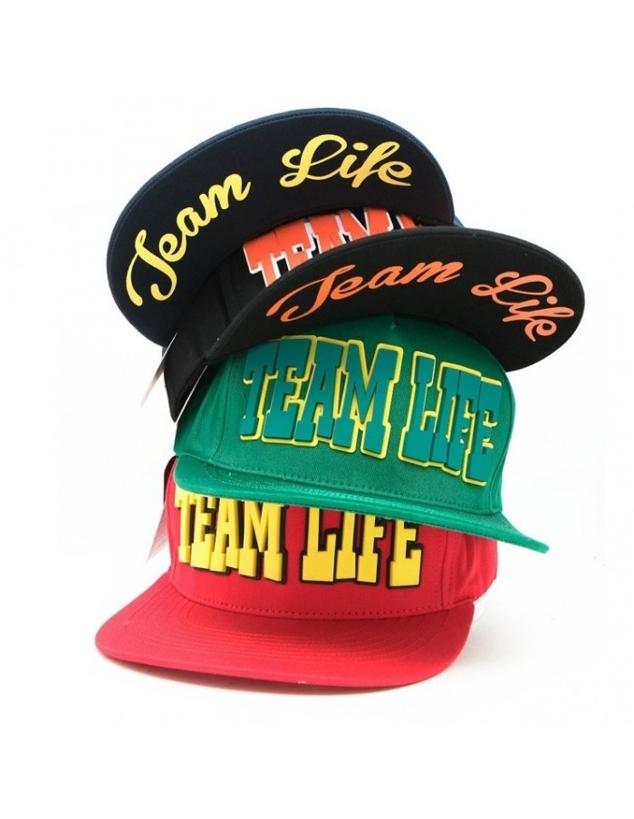 [CAP156] TEAM LIFE HIGH CUTTING SNAPBACK