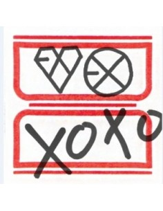 EXO First Album Vol 1 - XOXO (Hug Ver) CD YEARBOOK Package + Poster + Socks