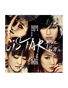 Sistar 2nd Album - Give it to me CD + Poster