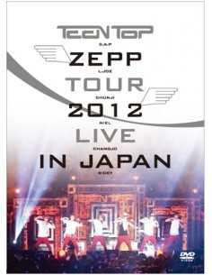 TEENTOP ZEPP TOUR 2012 LIVE IN JAPAN 2DVD + Photobook (54 p )