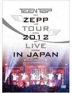 TEENTOP ZEPP TOUR 2012 LIVE IN JAPAN 2DVD + Photobook (54 p )