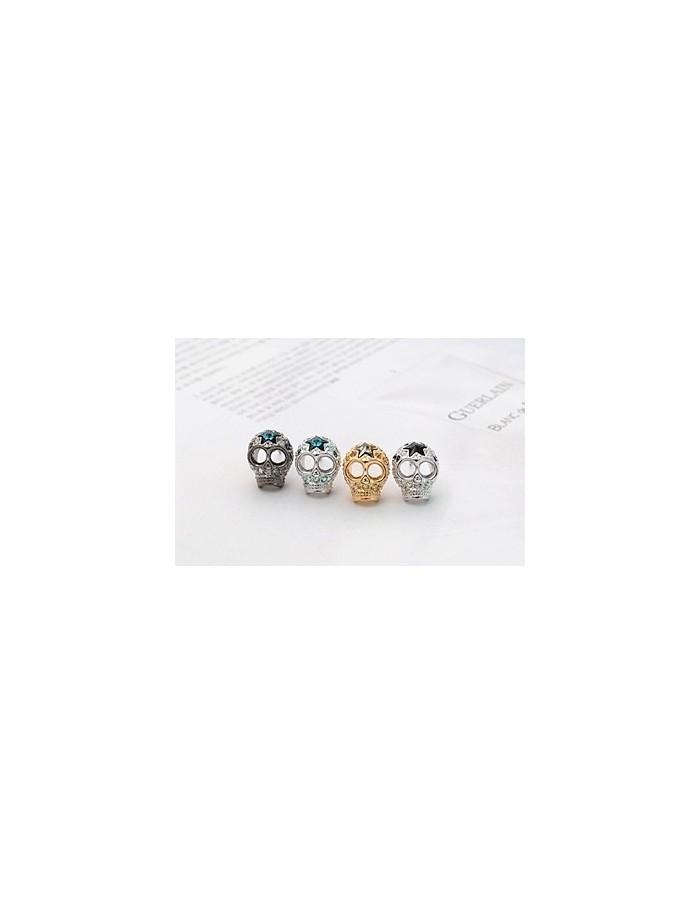 [NO47]  Rich Skull Earring