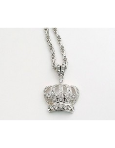 [NO41] Big Crown Necklace