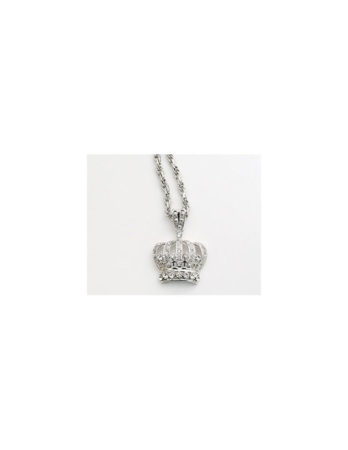 [NO41] Big Crown Necklace