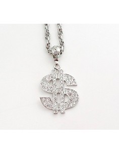 [NO31] Big Dollar Necklace