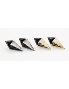 [NO23] Triangle Efffect Earring