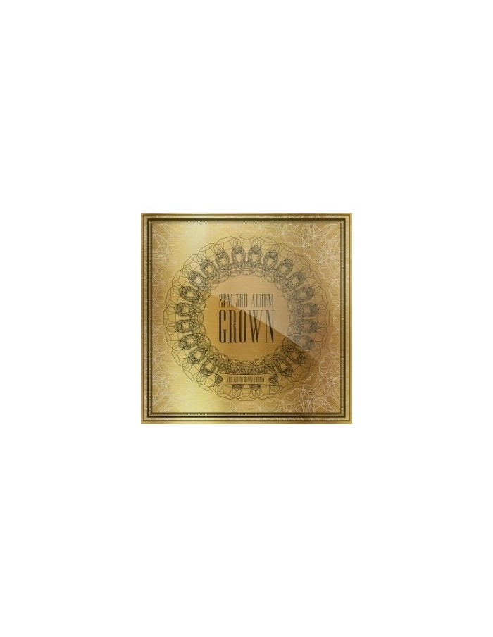 2pm 3rd Album - GROWN Grand Edition 2CD + Photobook 124p