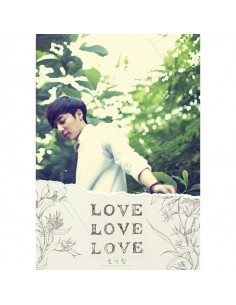Roy Kim First Album - Love Love Love CD + Poster