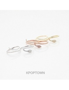 [BE102] BEAST Hyunseung Style Round Snake Ring