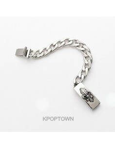 [BE91] Jun* Kikwang Style Carving Square Bracelet