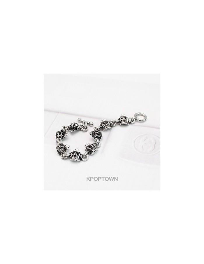 [BE81] Ki* Style Kings Black Bracelet