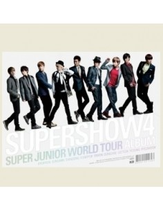 SUPER JUNIOR The 4th WORLD TOUR SUPER SHOW 4 3CD