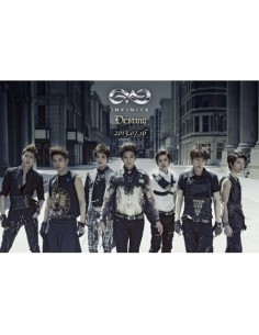 Infinite 2nd Single Album - Destiny CD + Poster
