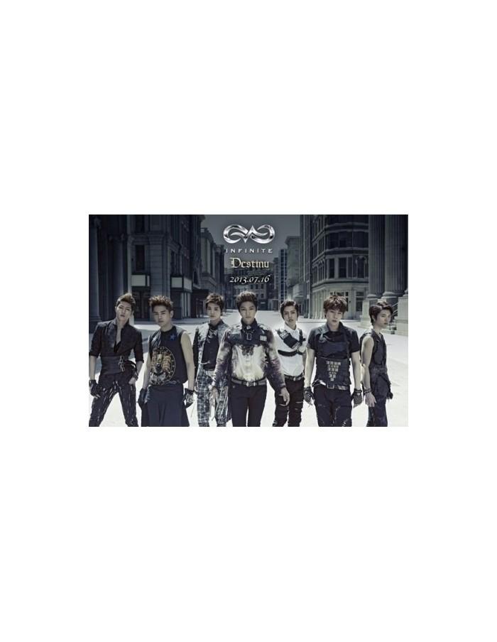 Infinite 2nd Single Album - Destiny CD + Poster
