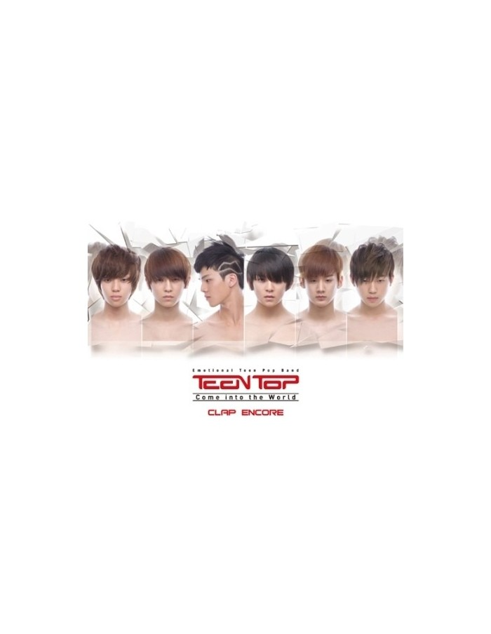 TEEN TOP Teentop COME INTO THE WORLD (1ST SINGLE ALBUM) REISSUE