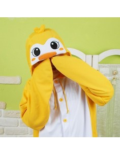 [PJB123] SHINEE Animal Pajamas - Yellow Penguin