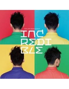 JYJ XIA JUNSU 2nd Album - INCREDIBLE CD + Poster