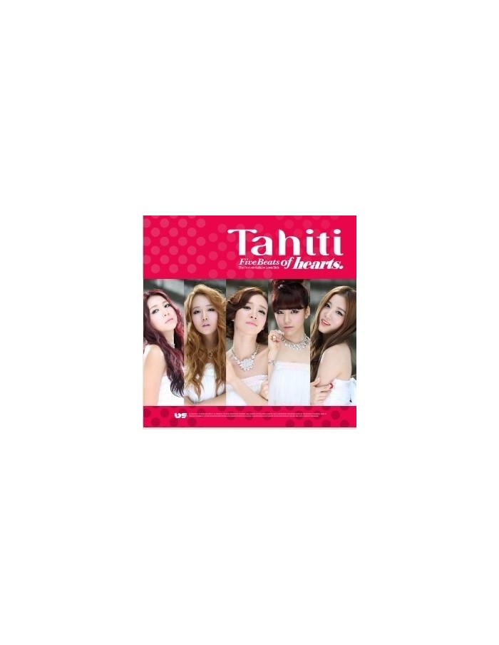 Tahiti 1st Mini Album - Five Beats of hearts CD