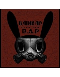 B.A.P 3rd Mini Album - BADMAN CD + Poster