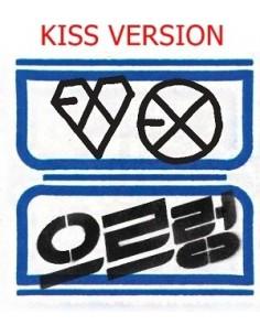 EXO First Album Vol 1 - XOXO (KISS Ver) REPACKAGE CD + Poster