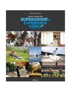 [Super Junior Official Photobook] Superjunior's Experience Korea 1 l