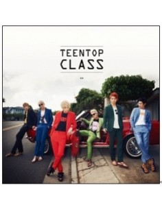 Teen Top 4th Mini Album - TEEN TOP CLASS CD + Poster