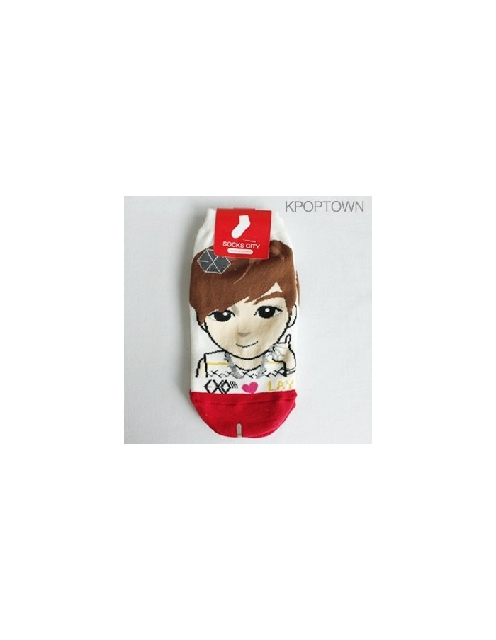 EXO-M 1 pair of  Character Socks - LAY
