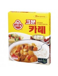 OTTOGI 3minutes Curry 200g