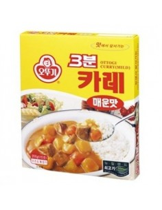 OTTOGI 3minutes Curry Spicy Flavor 200g