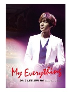My Everything 2013 Lee Min Ho Global Tour in Seoul DVD