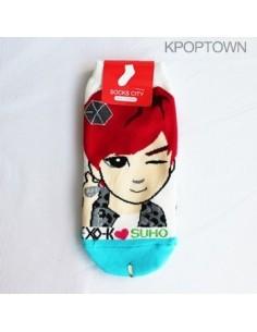 EXO-K 1 pair of  Character Socks - SUHO