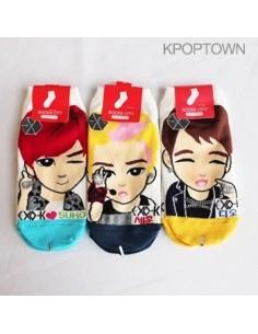 EXO-K Character Socks SET Ver. 2