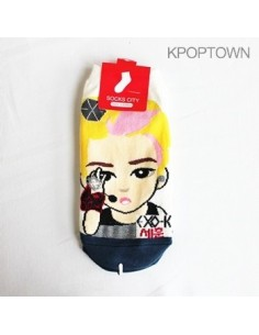 EXO-K 1 pair of  Character Socks - SEHUN