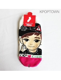 EXO-M 1 pair of  Character Socks - CHEN
