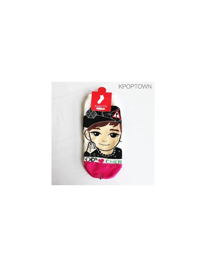 EXO-M 1 pair of  Character Socks - CHEN