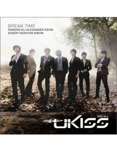 UKISS U-Kiss Break Time 4th album CD + Poster photobook