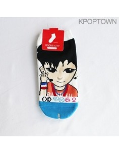 EXO-M 1 pair of  Character Socks - TAO Ver. 2