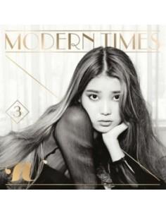IU 3rd Album - Modern Times CD Normal Edition